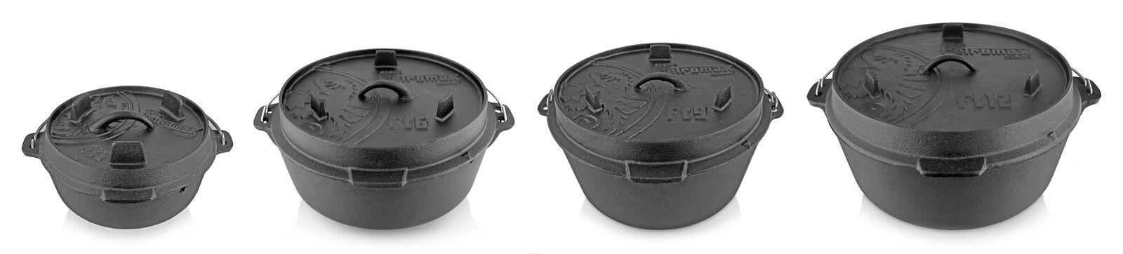 Petromax Dutch Oven OHNE  Füsse  NEU  OHNE 2,5 bis 15 Liter zur Auswahl c1bde3