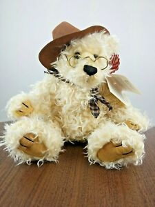 100th-Anniversary-Roosevelt-Dan-Dee-TEDDY-BEAR-12-034-Cowboy-Hat-Plush-Toy-2001