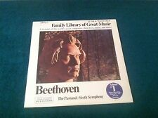 Family Library of Great Music Beethoven Sixth Symphony NEW LP Funk & Wagnalls