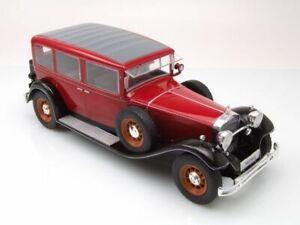 Mercedes Typ Nürburg 460 K rot / schwarz 1928 - 1:18 MCG