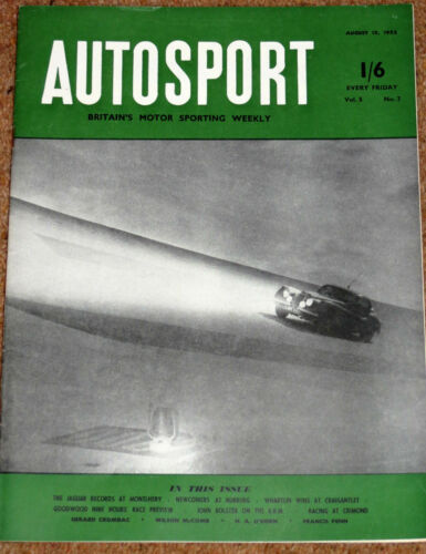 Autosport August 15th 1952 Farewell to BRM