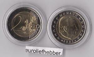Monaco-2-Euro-2001-Prins-Rainier-UNC-op-voorraad-in-stock