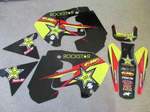 TEAM ROCKSTAR  SUZUKI  GRAPHICS  RM125 RM250  1999 2000