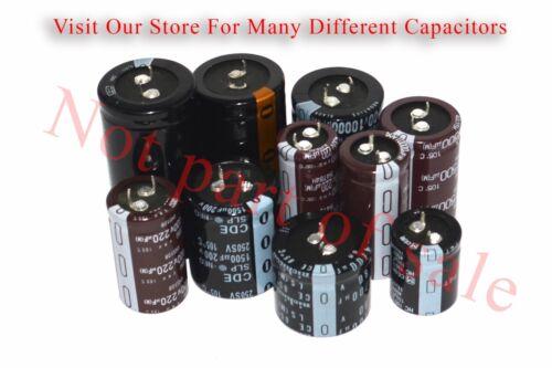 USA Seller Capacitor CDE 1500uF 200V 105°C 1500 Microfarads Radial Capacitor