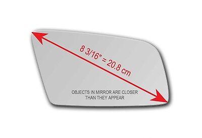 NEW PASSENGER side CONVEX Mirror Glass HEATED Plate BMW 6 SERIES E63//E64 03/>