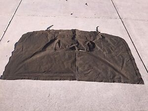 Details about M54 M39 G744 5 Ton Army Truck Canvas End Curtain