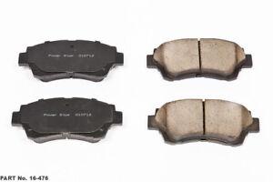 Power Stop 16-2052 Z16 Evolution Front Ceramic Brake Pads