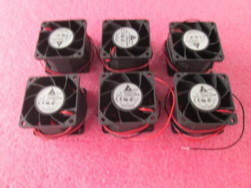 Lot of 6 Delta FFB0612SHE Brushless Fan 60x60x38mm 12VDC 0.83A