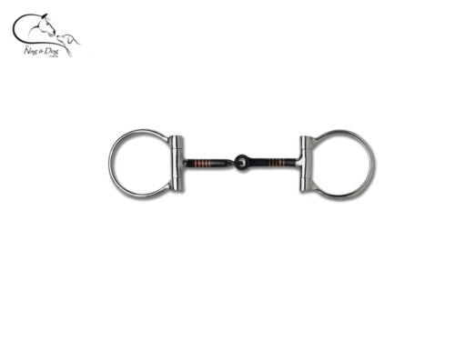 Waldhausen fer doux cuivre d anneau articulé Bridon Bit 10 mm épais livraison gratuite