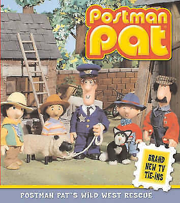 """""""VERY GOOD"""" Postman Pat's Wild West Rescue, Ritchie, Alison, Book"""