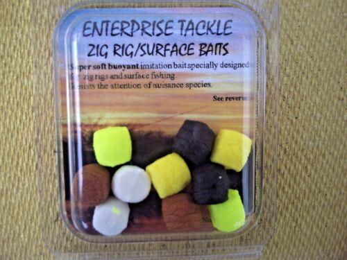 Idéal comme Zig Rig /& pop up Appâts. Deux Paquets Enterprise Zig Rig//Surface Appâts