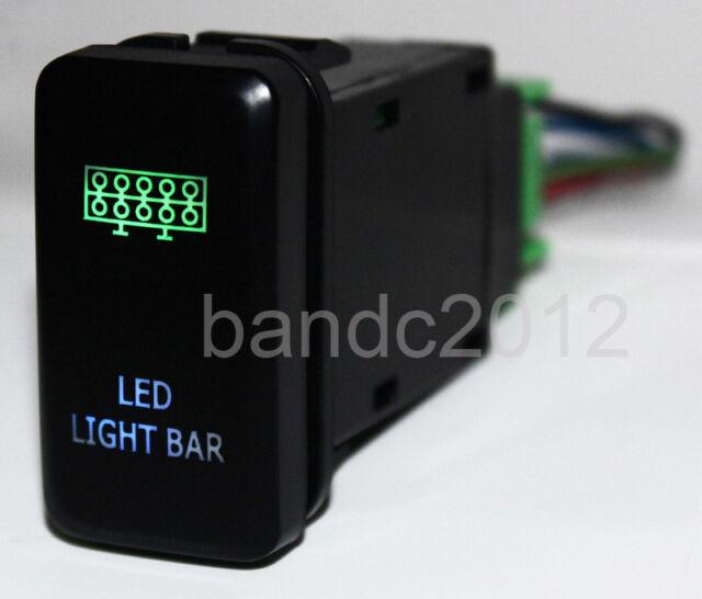 OEM LED LIGHT BAR PUSH SWITCH For Toyota FJ Cruiser Prado Hilux Landcruiser 12V