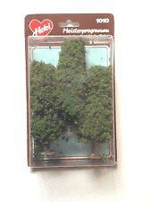 """Heki 1010,  3 - Elm Trees, 5"""" Tall each, Dark Green  New Mint In Box"""
