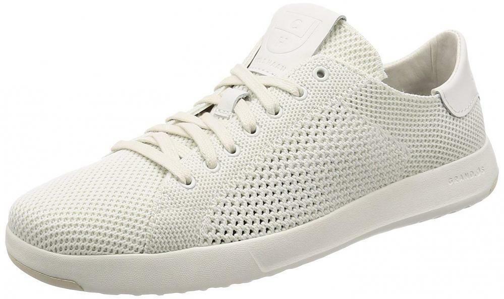 Cole Haan Homme grandpro Tennis stitchlite Knit paniers Craie 9.5 nouveau IN BOX