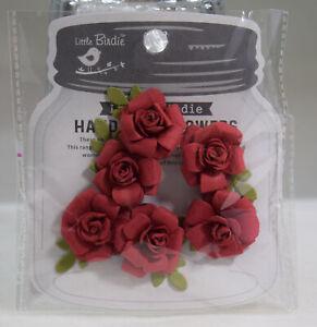 Bastelmaterial Papier Dekoration Karten Blüten Scrapbooking Verpackungen