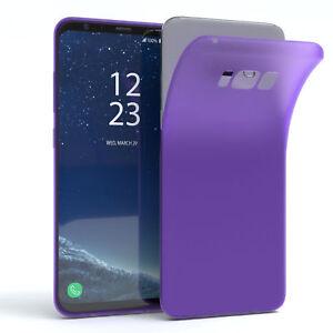 Schutz-Huelle-fuer-Samsung-Galaxy-S8-Plus-Cover-Handy-Case-Matt-Lila