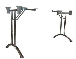 Gestell Für Klapptisch.Details Zu Klapptisch Gestell Modell D Economy Farbwahl 710mm Tischfüsse