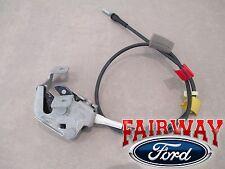 97 thru 04 F-150 Super Cab OEM Ford Rear Door Upper Latch w/ Cable LEFT DRIVER