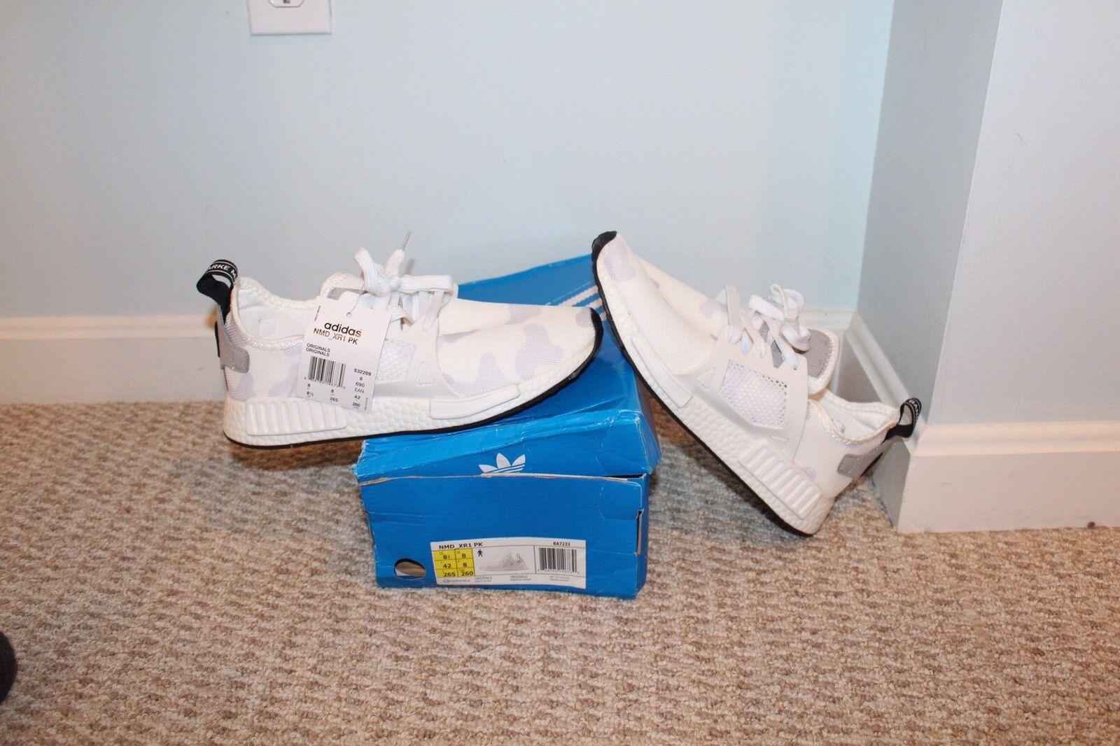 Adidas Nmd Xr1 Duck Camo White
