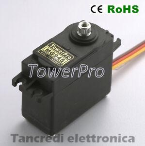 Servo-Motore-MG945-12kg-ORIGINALE-Servocomando-Robotica-Mini-Metal-Gear-Digital