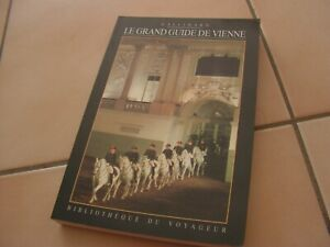 livre bibliotheque du voyageur   guide vienne   Gallimard  (e2)
