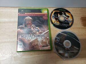 Mortal-Kombat-Deception-Kollectors-Edition-Baraka-Version-Xbox-NO-MANUAL