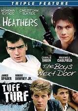 Triple Feature: Heathers / The Boys Next Door / Tuff Turf New DVD! Ships Fast!