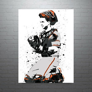 Buster-Posey-San-Francisco-Giants-Poster-FREE-US-SHIPPING