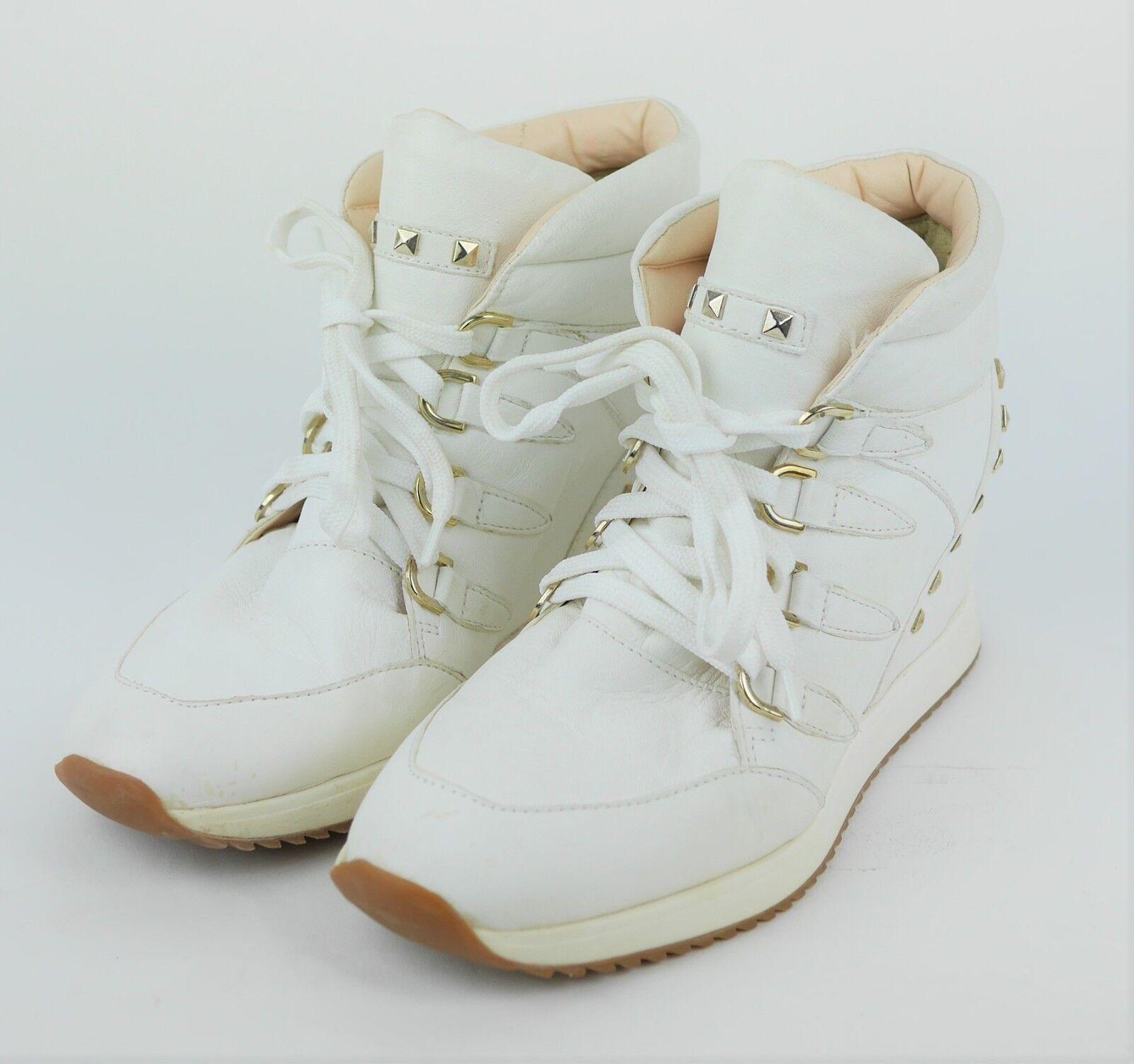 Carvela Kurt Geiger Mujer 6 Crema blancoo blancoo blancoo Apagado High Top Zapatillas Zapatos Con Tacón De Cuña  tomar hasta un 70% de descuento