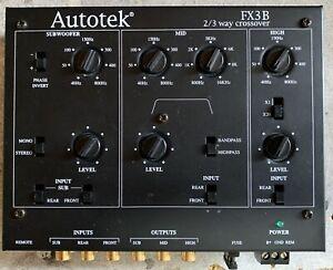 New-Old-School-Autotek-FX-3B-2-3-Way-Electronic-Crossover-Rare-vintage-NOS-NIB