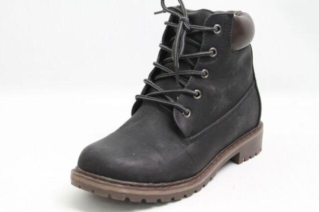 Schuhe schwarz Leder Gr. 38 (UK 5)