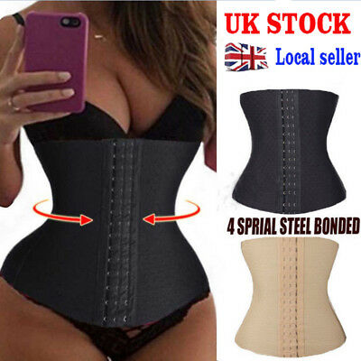 Slimming Waist Trainer Sport Steel Boned Body Shaper Tummy Training Girdle Belts
