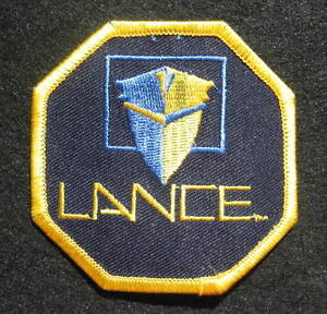 LANCE-EMBROIDERED-SEW-ON-PATCH-ADVERTISING-UNIFORM-HAT-SHIRT-JACKET