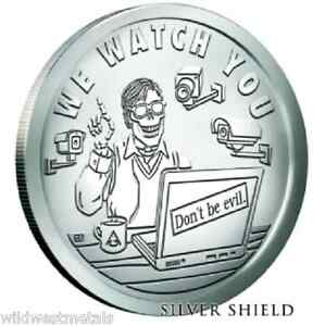 "2016 Silver Shield PYRAMID OF POWER #3 1 oz Silver BU w//COA /""WE FATTEN YOU/"""