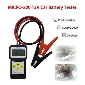 lancol micro 200 12v car battery test tool load tester. Black Bedroom Furniture Sets. Home Design Ideas