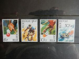 BELGIUM-2039-2042-1982-SPORTEN