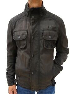Détails sur Superdry Limited Men's Heavyweight Moto Motard Veste Taille XXL Nº 4137 afficher le titre d'origine