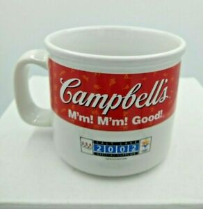 "2002 Campbell's Soup Mug US Olympic  ""SKATER"" Limited Edition Salt Lake City"