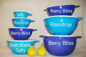 Tupperware-NEW-BLUE-Thatsa-mixing-Bowls-2-6-12-19-32-42-59-cup-SET-or-EACH