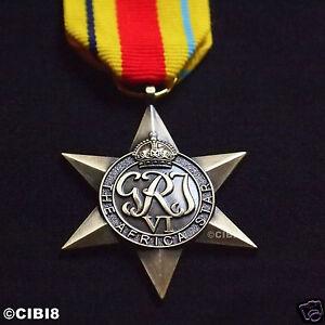 AFRICA-STAR-MEDAL-WW2-COMMONWEALTH-MILITARY-AWARD-ARMY-NAVY-RAF-COPY-GEORGE-VI