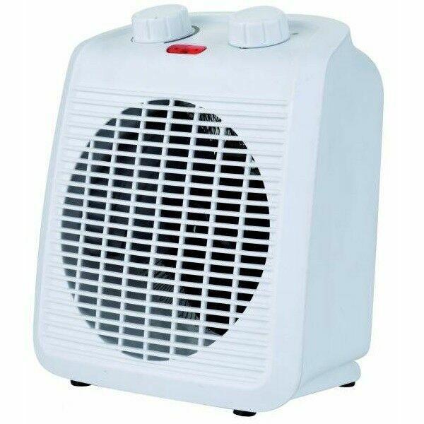 998772 2kW Upright Electric Fan Heater