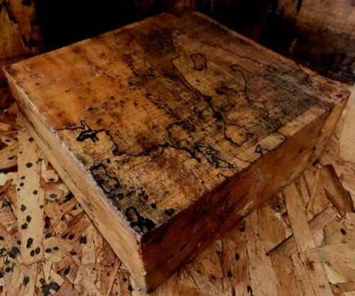 Spalted Tamarind Hardwood Lathe Turning 6x2 Woodworking Handles Grips Pens Calls