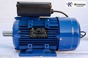 Electric-motor-single-phase-240v-1-5kw-2hp-2860rpm