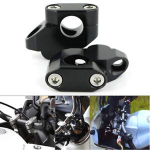 "7//8/"" 22mm For Motorcycle Bike Handlebar Handle Riser Mounting Clamp"