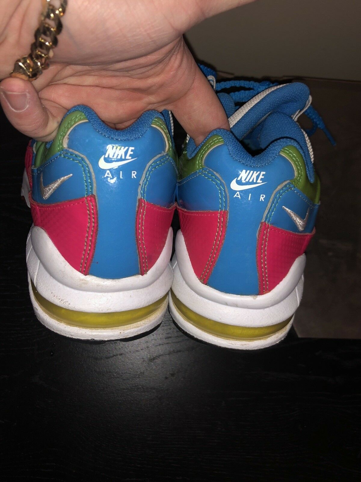 Air Max 95 Size 7y Rainbow colorful Cool Cool Cool e09b22
