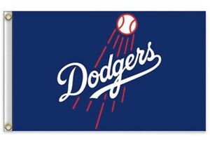 Los-Angeles-Dodgers-LA-3x5-Ft-Flag-Baseball-New-In-Packaging-Kershaw-Seager