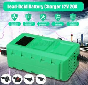 12V-20A-80W-Batterieladegeraet-Auto-KFZ-Akku-Batterie-Autobatterie-z
