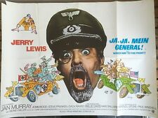 -JA, JA, MEIN GENERAL!- JERRY LEWIS UK MOVIE FILM QUAD PROMO COLLECTORS POSTER