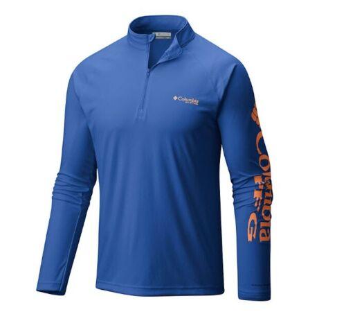 NEW COLUMBIA MEN'S PFG TERMINAL TACKLE 1//4 Zip Pullover