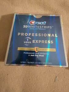 Crest 3D Whitestrips Professional Express Teeth Whitening Kit 1 Week 03/22